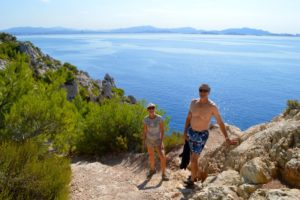 Hiking Cote Bleue